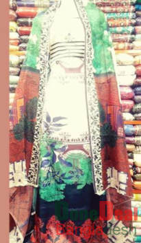 Shamu Silk Unstitched 3 Pieces Dress Set – MK44