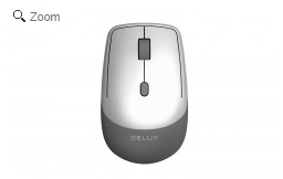 DELUX WIRELESS OPTICAL MOUSE # M330GX
