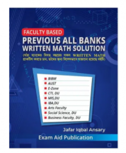 Faculty Based Previous all Banks written math solution