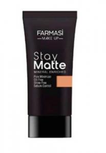 FARMASi Stay Matte Foundation (Tube) #05 Sun Tan - FAR-062