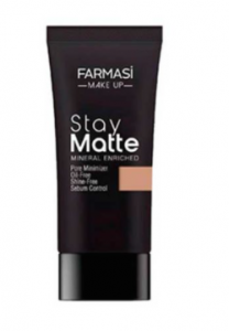 FARMASi Stay Matte Foundation (Tube) #06 Soft Beige - FAR-063