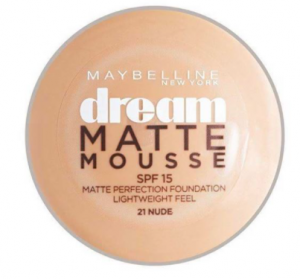 Maybelline Dream Matte Mousse Foundation 021 Nude