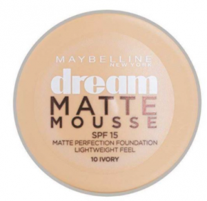 Maybelline Dream Matte Mousse Foundation 10 Ivory