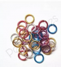 10 pcs 8mm Round Shape Bird & Pigeon Foot Ring Pigeon Rings Pigeon Leg Bands Multicolor