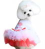 2019 New Pet Puppy Small Dog Cat Lace Skirt Princess Tutu Dress Clothes Costume L