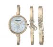 ANNE KLEIN Accented & Bracelet Ladies Watch AK3274GBST
