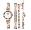 ANNE KLEIN Crystal Accented and Bracelet Ladies Watch AK3082RGST