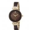 ANNE KLEIN Diamond-Accented Bangle Watch AK/1980BNGB