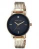 Anne Klein Diamond-Accented Chain Ladies Watch - AK3220NMGB