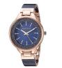 ANNE KLEIN Swarovski Crystal Accented Resin Bangle Watch AK/1408NVRG
