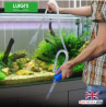 Aquarium/Fish Tank Siphon and Gravel Cleaner - A Hand Syphon Pump to Drain and Replace Your Water in