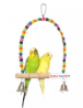 Birds Swing for Cage Accessory Perch Bird Toy for Budgies, Cockatiel, Parrot, Conure, Java, Finch, C