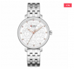 CURREN 9046 Stainless Steel Watch for Women – Silver