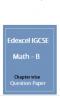 Edexcel IGCSE Mathematics B QUESTION PAPER (Chapterwise)