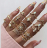 Finger Ring for Women - 17 Pieces Set