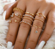 Finger Ring for Women 8 Pieces Set - S2