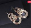 Geometric 3 Circle Long Earring - PGCBGCMG