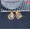 Geometric Circle Round Stud Earrings – E196