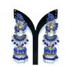 German Silver Peacock Design Earring – TR 798
