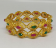 Gold Plated Bangle TR-1015