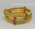 Gold Plated Bangle TR-1018