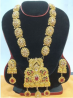 Gold Plated Necklace & Earring Set – TC10