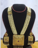 Gold Plated Necklace & Earring Set – TC13