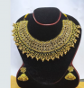 Gold Plated Necklace & Earring Set – TC15