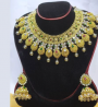Gold Plated Necklace & Earring Set – TC16