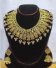 Gold Plated Necklace & Earring Set – TC17