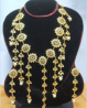 Gold Plated Necklace & Earring Set – TC18