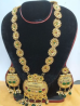 Gold Plated Necklace & Earring Set – TC19