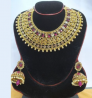Gold Plated Necklace & Earring Set – TC21