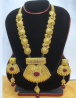 Gold Plated Necklace & Earring Set – TC22