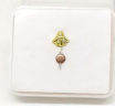 Gold Plated Nose Pin TR-1387