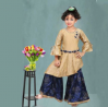 Indian Silk Party Dress for Girls – D5007