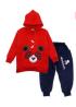 Panda Stylish Hoodie for Kids Dress Set - CLB 314