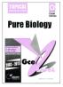 Redspot GCE O Level Pure Biology (Topical)
