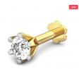 Single Stone Diamond Nose Pin (GF-PS-DN-01)