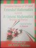Solution of Extended Mathematics for IGCSE & General Mathematics (D.Rayner)