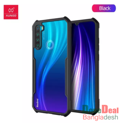 Xundd Beetle Series For Xiaomi Redmi Note 8 Series Flat Leather Shockproof Bumper Case