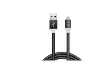 ADATA AMUCAL 100CM Black Micro USB Type A Aluminum Cable
