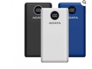 ADATA P20000QCD 20000mAh Quick Charging Type-C Power Bank
