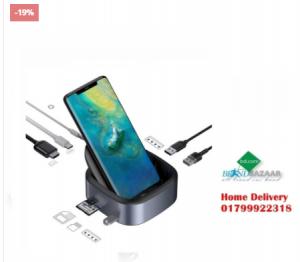 Baseus 8 in 1 USB Type-C 3.5mm Audio Jack PD Charge HUB Docking Station