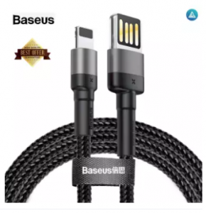 Baseus Reversible USB charging cable for iPhone (2.4A, 1m)