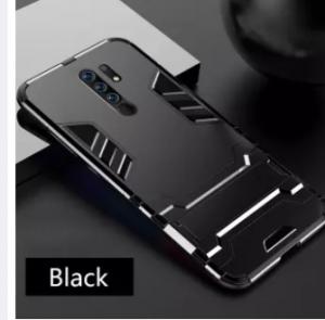 For Xiaomi Redmi 9 / Xiaomi Redmi 9 Prime / Poco M2 Luxury Iron Man Hard Armor and Soft Silicone TPU