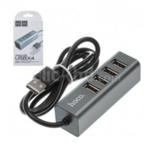 HOCO HB1 4 Ports USB Hub- Original Brand New