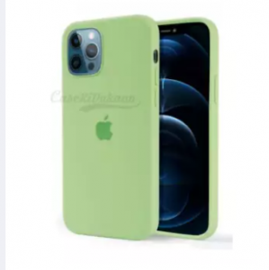 Iphone 12 PRO MAX (6'7 inch) official Silicon case with apple logo- all color in stock