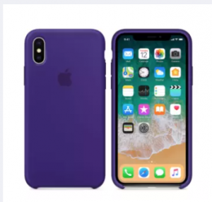 Iphone X / XS (5.8 inch)official Silicon case with apple logo- 20 color in stock