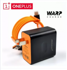 OnePlus McLaren Edition 30W Warp USB Fast Power Charger Adapter with Type-C Cable 5V 6A For One plus
